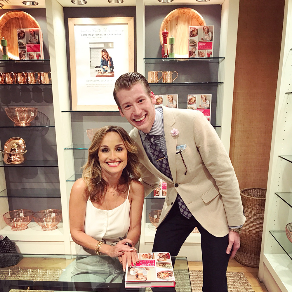 Grant and Giada NY Internship